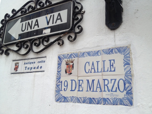 Culture, street signs