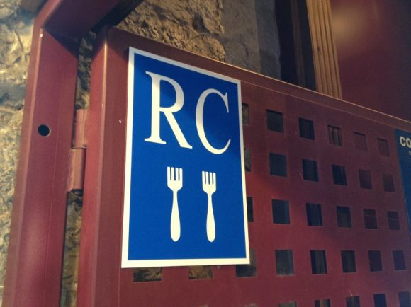 RC Forks. Strange restaurant rating