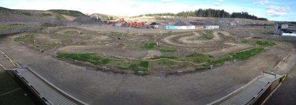 Fullspeed RC have such an awesome track to test on here right by the Helsinki Airport!