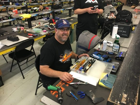 Barry Baker was so happy after his epic win at Sunday Night Showdown at OCRC that he organised his tool box. Then we had the great news that we both made it into the Reedy Invitational class. What a day, I think Barry will be smiling all day at work tomorrow.